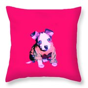 Crystal Warhol Throw Pillow
