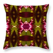 Crystal Butterfly Pattern Throw Pillow