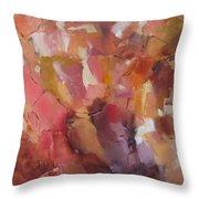 Crystal Cascade Throw Pillow