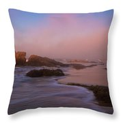 Crystal Cove State Park Throw Pillow