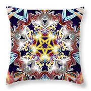 Crystal Fifth Throw Pillow