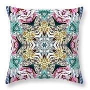 Crystal Mystery Throw Pillow