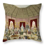 Crystal Palace, Zollverein Department Throw Pillow