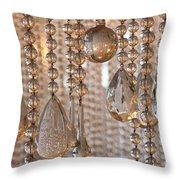 Crystal Rain 1 Throw Pillow