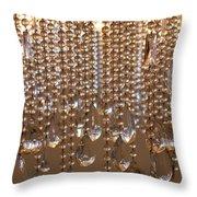 Crystal Rain 2 Throw Pillow