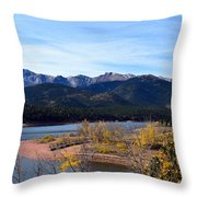 Crystal Reservoir Throw Pillow