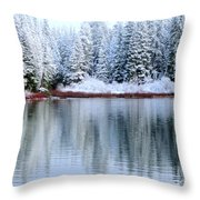 Crystal Silent Throw Pillow