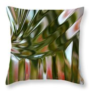 Crystal Vase Throw Pillow