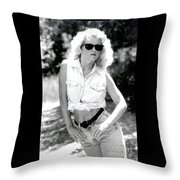Crystalbwjeans Throw Pillow