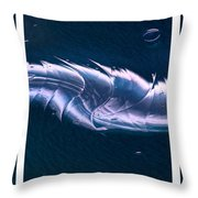 Crystalline Entity Triptych  Throw Pillow