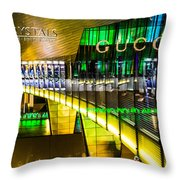 Crystals At The Vdara Throw Pillow