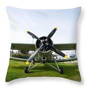 Polikarpov Po-2 Throw Pillow