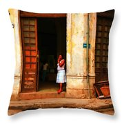 Cuba3 Throw Pillow