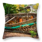 Cuban Chugs Throw Pillow