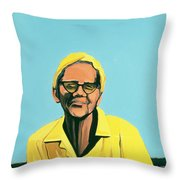 Cuban Portrait #13, 1996 Throw Pillow