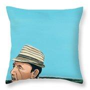 Cuban Portrait #8, 1996 Throw Pillow