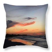 Cuban Sunset Throw Pillow