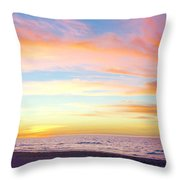 Cuban Sunset Throw Pillow