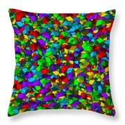 Cubes... Throw Pillow