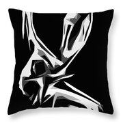 Cubism Love Throw Pillow
