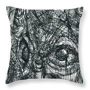 Cubisto 1 Throw Pillow