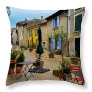 Cucuron In Provence Throw Pillow