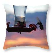 #cuddleseasonisover Throw Pillow