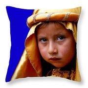 Cuenca Kids 315 Throw Pillow