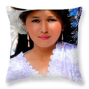 Cuenca Kids 491 Throw Pillow