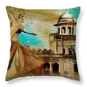 Cultural Dancer Throw Pillow