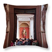 Cultural Exchange Throw Pillow