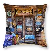 Cumberland Mountain General Store Throw Pillow