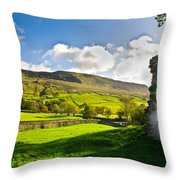 Cumbrian View Throw Pillow