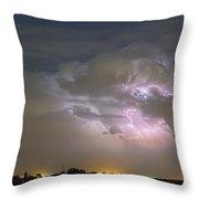 Cumulonimbus Cloud Explosion Throw Pillow by James BO  Insogna