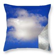 Cumulus And Cira Throw Pillow