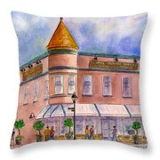 Cunha's Country Store Throw Pillow by Diane Thornton