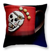 Cup In Bowl Throw Pillow