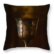 Cup Runneth Over Throw Pillow