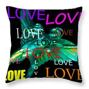 Cupids Love Throw Pillow
