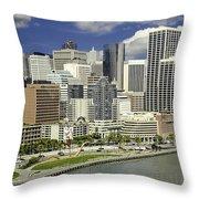 Cupid's Span Waterfront San Francisco Throw Pillow