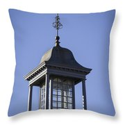 Cupola And Weather Vane Throw Pillow
