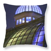 Cupola At Night Throw Pillow