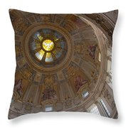 Cupola Berliner Dom Throw Pillow