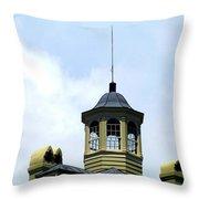 Cupola Chimneys Charleston Throw Pillow by Randall Weidner