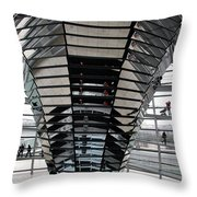 Cupola Reichstag Building II Throw Pillow