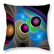 Curbisme-102 Throw Pillow