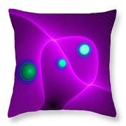 Curbisme-111 Throw Pillow
