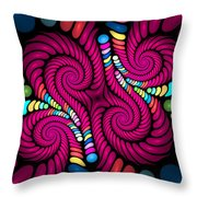 Curbisme-15 Throw Pillow