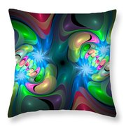 Curbisme-37 Throw Pillow