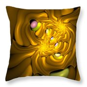Curbisme-96 Throw Pillow